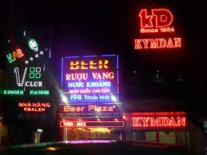 thi cong bang led