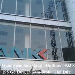 Ốp mặt dựng alu ngân hàng An Bình