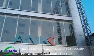 ốp mặt dựng alu ngân hàng