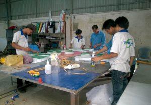Xưởng sản xuất Sơn Băng