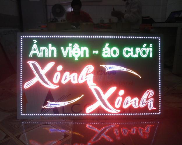 bảng quảng cáo đèn led