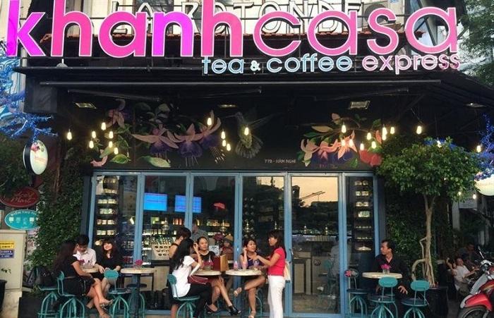 bảng hiệu chữ mica 3d cho quán cafe