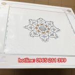 Tấm Trần Nhựa PVC 60×60 Hoa Văn Đẹp Giá Rẻ SLL Tại TPHCM