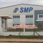 Làm logo chữ nổi alu cho công ty, nhà xưởng tại Đồng Nai