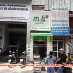 Làm bảng hiệu cửa hàng Mía+ Juice Bar tại quận 1 TPHCM