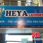 Mẫu bảng hiệu cửa hàng shop giặt ủi giá rẻ