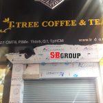 Mẫu bảng hiệu quán coffee trà đẹp tại TPHCM